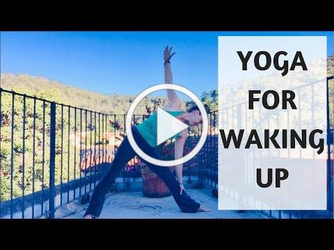 YOGA FOR WAKING UP | YOGA WITH MEDITATION MUTHA