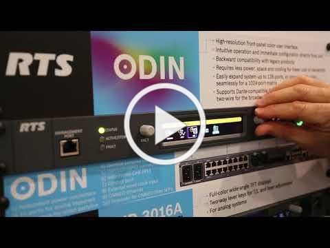 ODIN IP intercom matrix: UI walkthrough