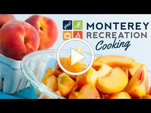Monterey Recreation Presents: That's Good! Pint Size Peach Pies 🥧🍑