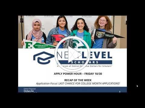 Apply Part 4: Week in Review + FAFSA Focus