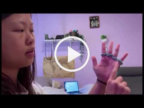 How to HandKnit with SDSU Intern Michelle