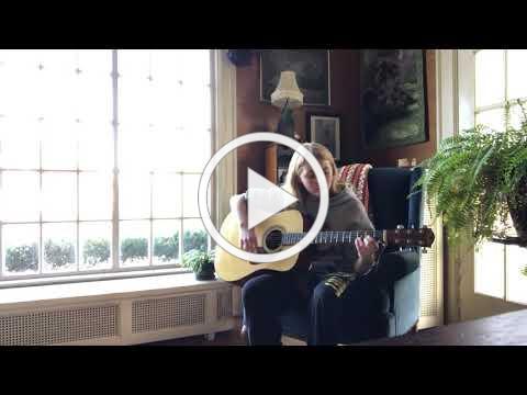 Eden on guitar