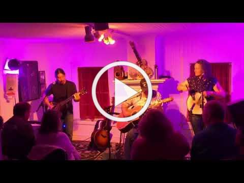 PAN HANDLE RAG Lou Castro, Martin Garrish and Marcy Brenner May 25 2018 Coyote Music Den