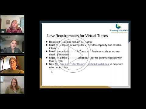 Recruiting, Training, and Retaining Tutors Virtually