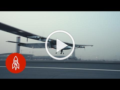 Circling the Globe in a Solar-Powered Plane