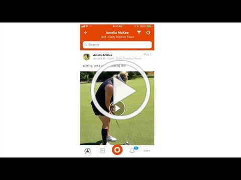 One-on-one coaching/skill coaching demo with CoachNow app