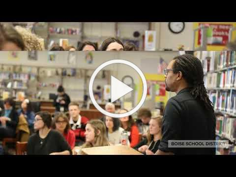 Pulitzer Prize Winning Author Colson Whitehead Speaks to Capital High School Students