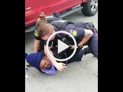 A Fiyahman Resist Police Brutality