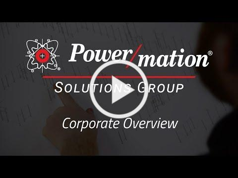Power/mation Solutions Group Corporate Overview
