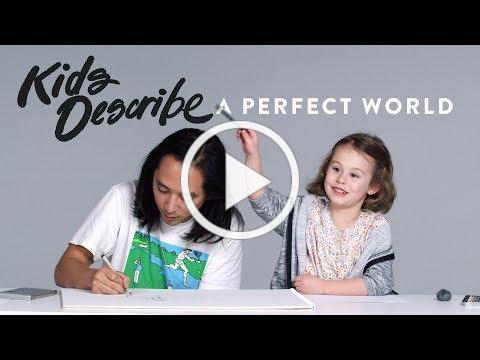 Kids Describe A Perfect World to Koji the Illustrator | Kids Describe | HiHo Kids