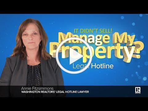 Manage My Property?