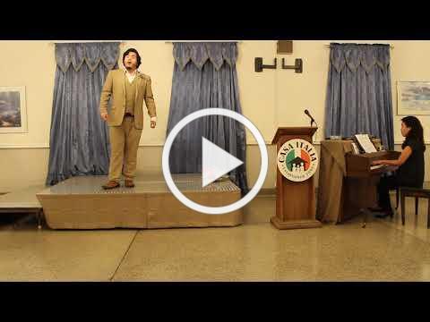 Vocal Scholarship - Muccianti Scholarship Winner - November 10, 2019 - Video 2 of 2