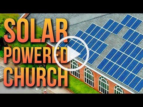 Solar Power System Installation - Unity Presbyterian Church