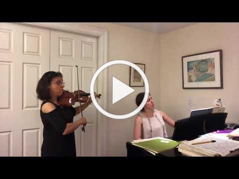 J.S. Bach, Sonata in C minor, BWV 1017, Largo