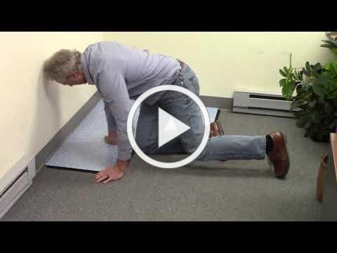 Installing tiles over carpet