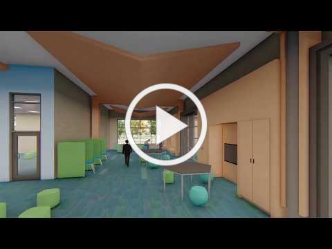 Eden Prairie Schools: This is a three-dimensional architectural rendering