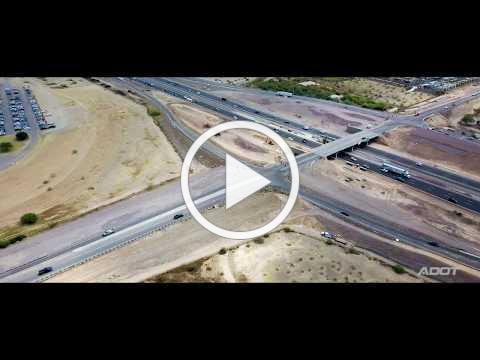 I 17 and Pinnacle Peak Road (Drone)