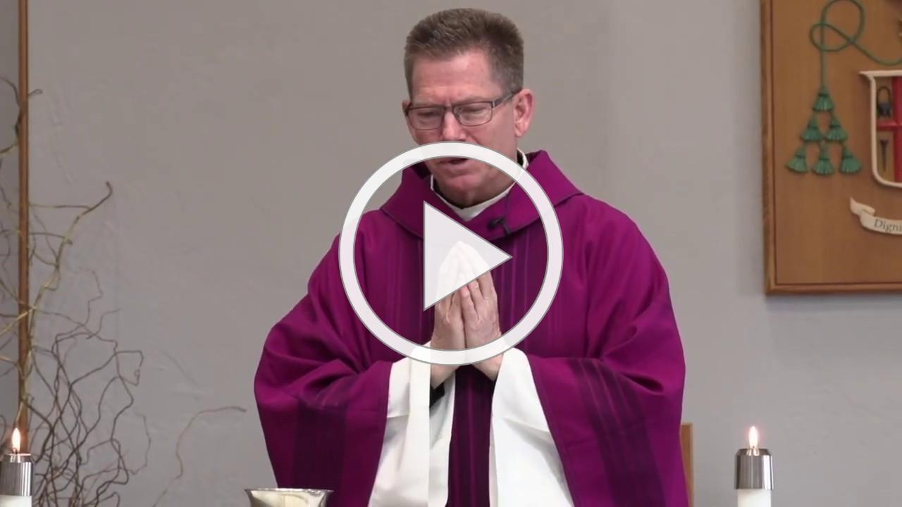 Mass Father Matthew Spahr-March 31, 2020