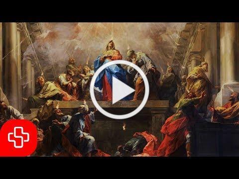 Gregorian chant: Veni Creator Spiritus (Lyric Video)