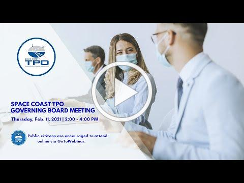 February 8, 2021 - SCTPO Technical Advisory Committee Meeting