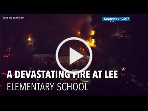 Supporters Help Tampa Heights Elementary Magnet Pick Up the Pieces after Fire
