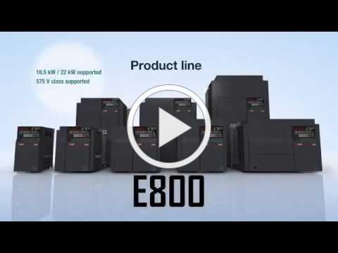FR-E800 Series Inverter