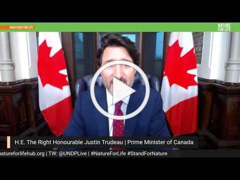 UN LeadersPledge2020 Trudeau Statement
