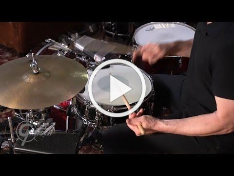 Gretsch - Black Nickel Over Steel Snare Drum and Stanton Moore