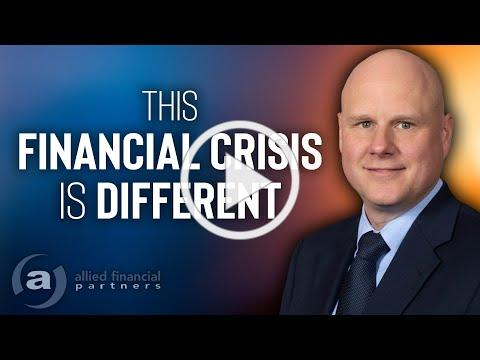 This Financial Crisis is Different