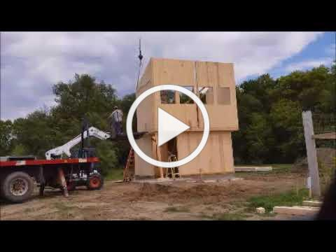 College of Architecture Student Design Build Using Cross Laminated Timber Construction