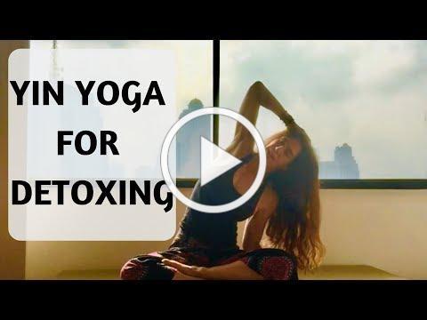 YIN YOGA FOR DETOXING | YOGA WITH MEDITATION MUTHA