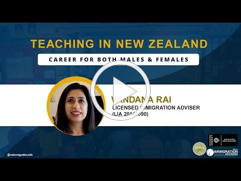 Teaching in New Zealand: Career for both Males and Females