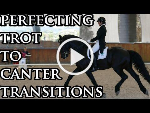 Your Riding Success TV Episode 34 - Trot to Canter Transitions
