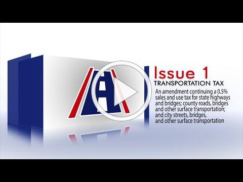 2020 Arkansas Ballot Issue 1 - Transportation Sales Tax