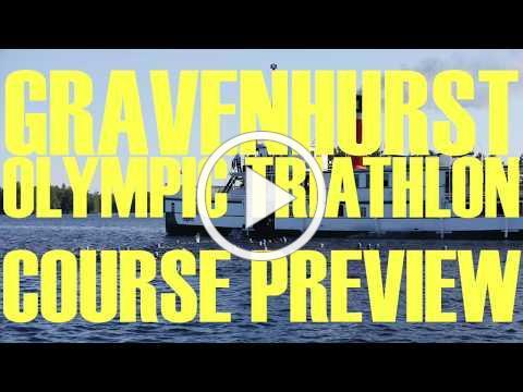 Gravenhurst Olympic Triathlon Course Preview