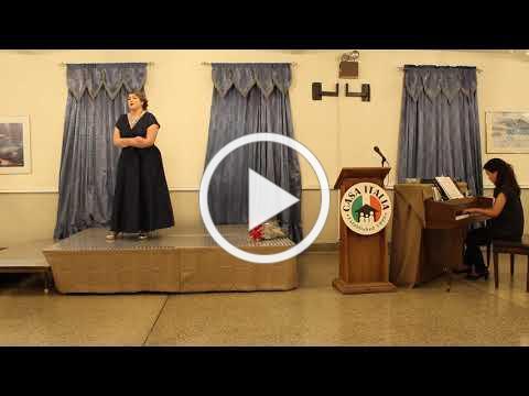 Vocal Scholarship - IAET Scholarship Winner - November 10, 2019 - Video 2 of 2
