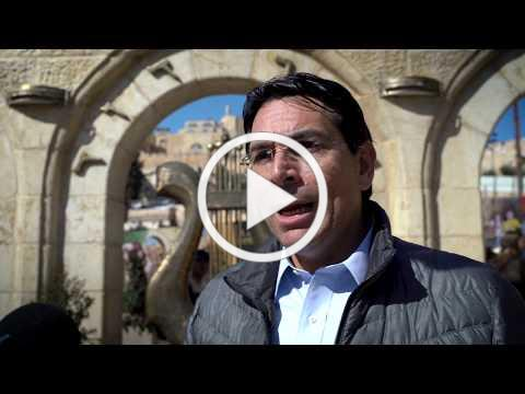 FORTY UNITED NATIONS AMBASSADORS VISITED THE CITY OF DAVID