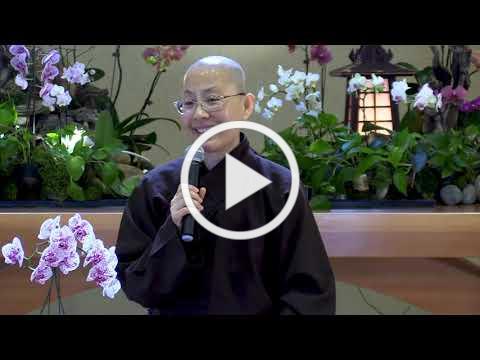 Beginning Anew | Holiday Retreat Dharma Talk by Sr. Dang Nghiem, 2019 12 30, Deer Park Monastery