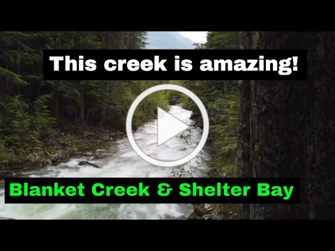 Blanket Creek & Shelter Bay Provincial Parks