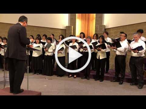 Ken Matsuda Leads the Japanese Chorus in Amazing Grace