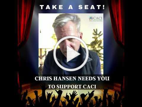 Chris Hansen wants YOU to Take a Seat for CACI