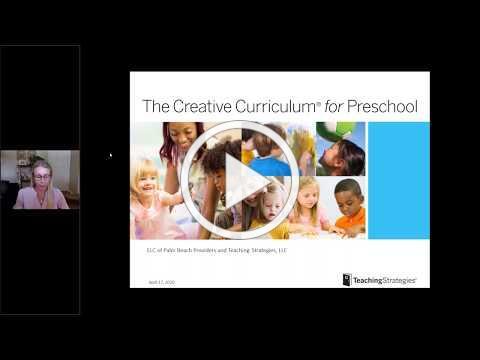 Providers Virtual Curriculum Fair - Friday, April 17, 2020 (Teaching Strategies)
