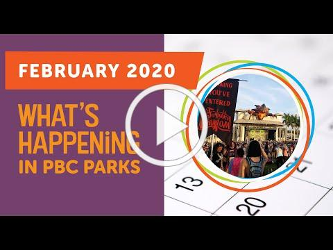 What's Happening in PBC Parks: February 2020