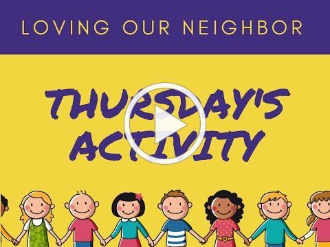 VBS 2020 Thursday Activity Friendship