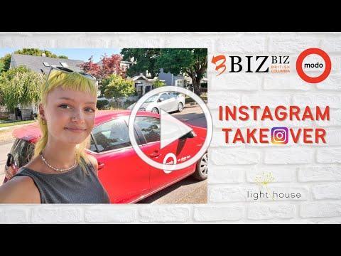 BizBiz BC - Modo Car Co-op Instagram takeover