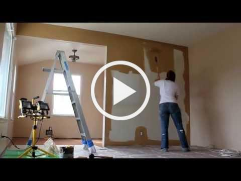 Painting the Living Room (Time Lapse)