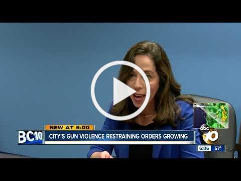 City secures its 100th gun restraining order