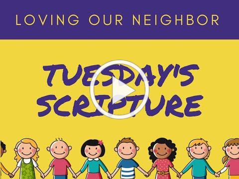 VBS 2020 Tuesday Scripture/Grace