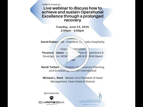GMBHA Presents: How to achieve & sustain Operational Excellence through a prolonged recovery