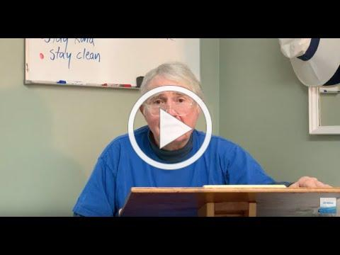 Things We Can Do, a video message from Don Ash, March 17, 2020